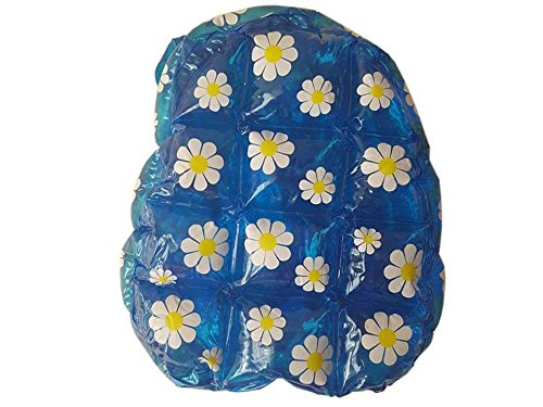 Daisy Blue PVC Decorations Bag Flower Back Bag with Pack Bubble Inflatable 96 PTTxXqR