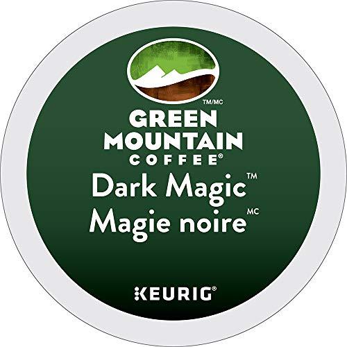 - Green Mountain Coffee Dark Magic Keurig Single-Serve K-Cup Pods, Dark Roast Coffee, 24 Count