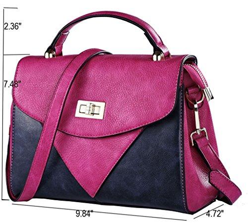 ROYAL WIND - Bolsa Mujer Rosa - Pink+Blue
