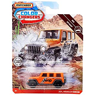 Matchbox Color Changers Jeep Wrangler Rubicon
