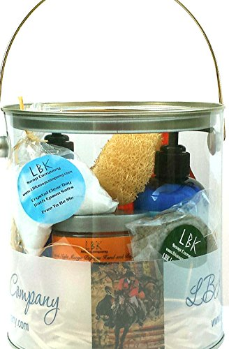 The Perfect Deluxe Equestrian Gift Spa Basket by LBK Soap Company