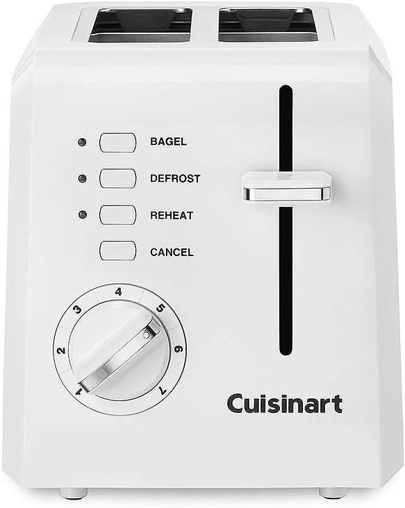 Torradeira para duas fatias Branca Cuisinart | 220V por CUISINART