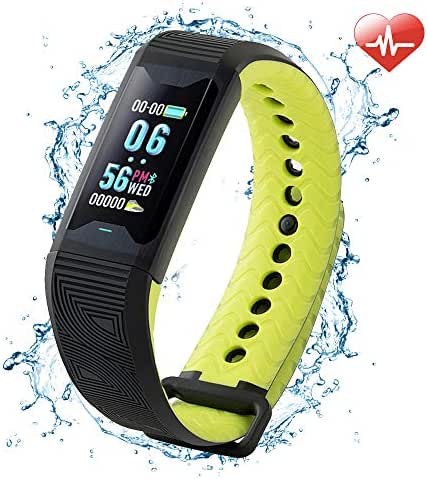 BOZLUN Heart Rate Monitor- Blood Oxygen Monitor for Elderly & Fat, Sleep Monitor for Sub-Healthy, Tracking Heart Rate All-Day & Measuring Blood Oxygen for Snoring Person