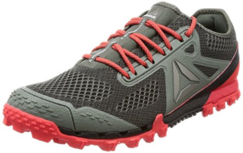 Reebok All Terrain Super 3.0, Chaussures de Running Entrainement Homme Multicolore (Ironstone / Coal / Dayglow Red / Alloy / Pwtr / Wh)