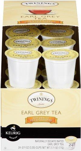 Twinings Earl Grey Decaf Tea K-Cup, 96 K-Cups