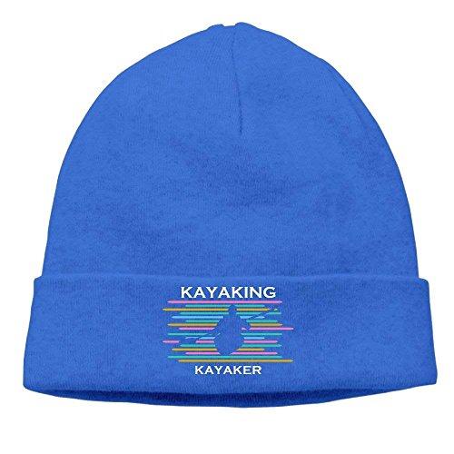 Skull Beanie Knit Hat Cap Retro Hhaj Men Royalblue Adults Kayaking Kayaker Beanie Women 0XRzwp