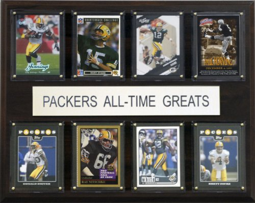 Green Bay Packers Plaque - NFL Green Bay Packers All-Time Greats Plaque