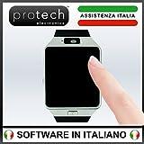 SMARTWATCH ANDROID e IOS - PROWATCH - Unici con Istruzioni in Italiano - Assistenza e Gararanzia ITALIANA 24 MESI - Orologio Smart con SIM, Schermo OLED, Fotocamera integrata