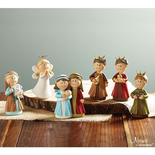 6pc Precious in His Sight Childrens Christmas Nativity Set