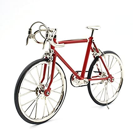amazon com t y s racing bike model alloy simulated road bicycle