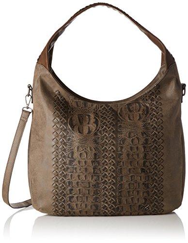 Sansibar Pouch - Shoppers y bolsos de hombro Mujer Marrón (Tobacco)