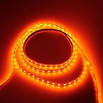 Amazon alitove 164ft 5050 smd orange led flexible strip light alitove 164ft 5050 smd orange led flexible strip light lamp 5m 300 leds non aloadofball Image collections