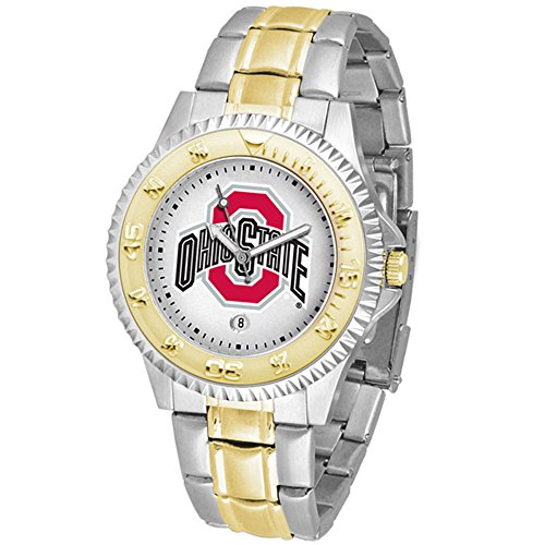 - Ohio State Buckeyes Competitor Two-Tone Men's Watch