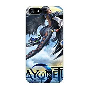 Iphone5 iphone 5s iphone 5 Scratch-proof phone carrying shells Protective cases bayonetta 2 2014 Game