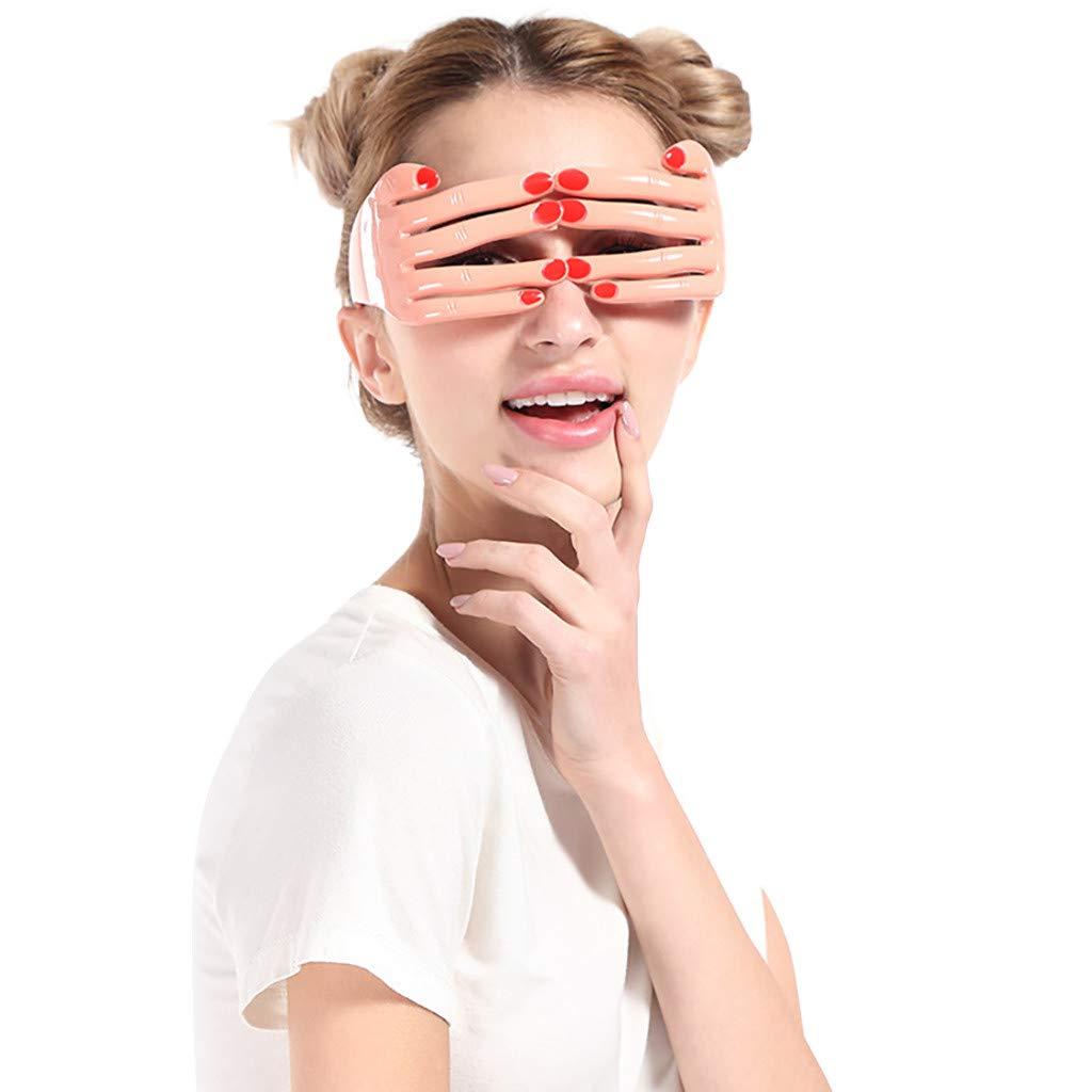 Mymyguoe Gafas de Fiesta Divertidas Funny Crazy Fancy Dress Glasses Fiesta de Disfraces Gafas de Sol Accesorios Gafas Creativas Gafas retorcidas