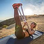 OMERIL-Elastici-Fitness-Set-di-5-Bande-di-Resistenza-Fitness-con-5-Livelli-di-Resistenza-Fasce-Elastiche-Fitness-per-Crossfit-Yoga-Pilates-Squats-Lunges-Stretching-Allenamento-di-Forza