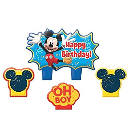 Amazon.com: Party Time Mickey Mouse de Disney – Juego de ...