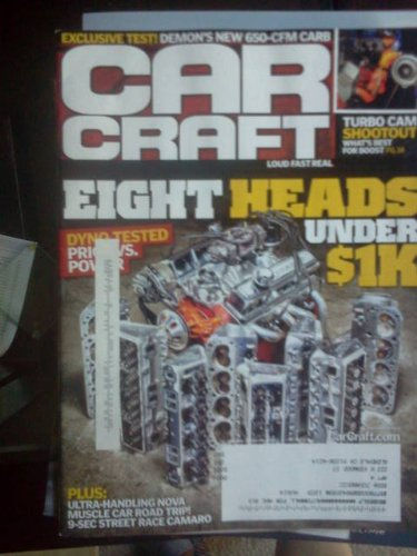 CAR CRAFT September 2012 Eight Heads under $1K