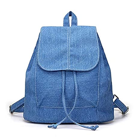 Amazon.com: Maras Dream Soft Canvas Women Backpack Drawstring School Bags Female Backpacks for Teenage Girls Mochilas Escolares: Kitchen & Dining