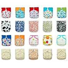 20 KaWaii Baby Printed Snap One Size Pocket Cloth Diaper-Covers