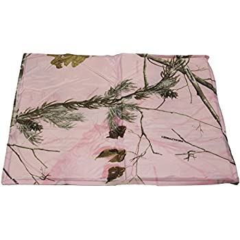 "Hugs Pet Products Chillz Pad Comfort Cooling Gel Pet Pad, Realtree Pink, Medium (20"" x 15"")"