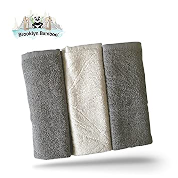 Brooklyn Bamboo Kitchen Dish Hand Towels Soft, Absorbent More Durable Than  Cotton Beautiful 3Pc Set