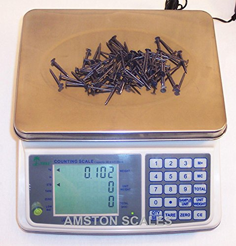 16lb x 0.0005lb Digital Parts Counting Scale Plus - Mid Counting Scale with Check-weighing Function - Inventory Scale - Coin Counting Scale