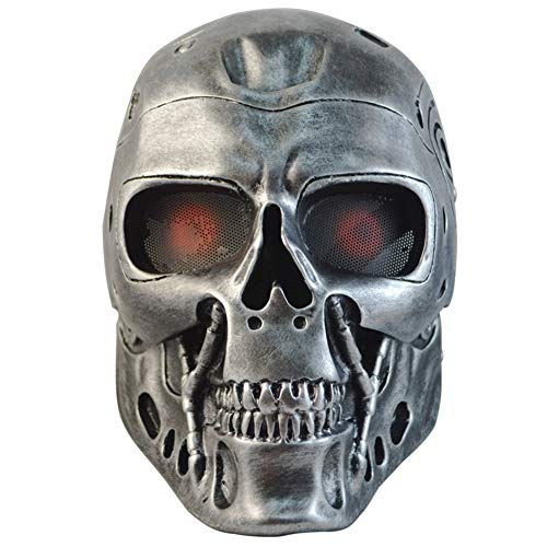GPAN Terminator Helmet Masks Halloween Mask Horror Creepy Mask Masquerade Party Cosplay Props ()