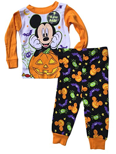 Baby boys Mickey Mouse Two-Piece Halloween Pajamas (24M)