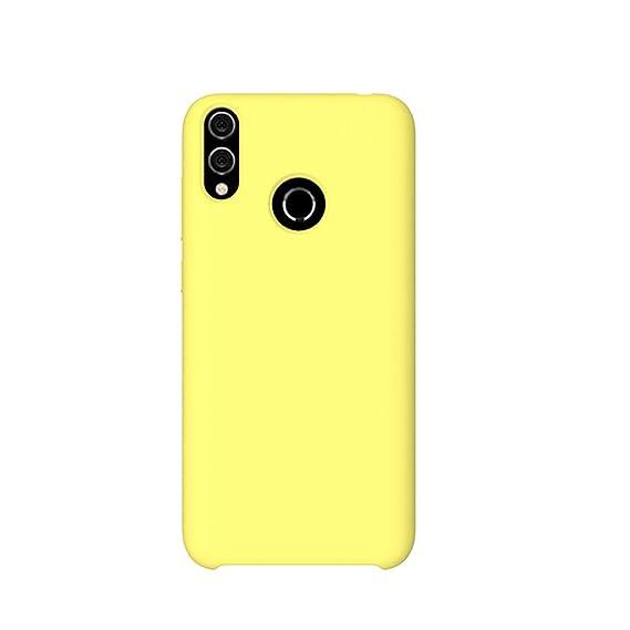 Amazon.com: Huawei Honor 8X/8C Case TPU+PC Liquid Silicone ...