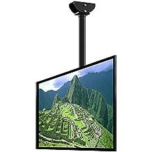 "Loctek CM2 Adjustable Wall Ceiling Tilting TV Mount Fits most 32-65"" LCD LED Plasma Monitor Flat Panel Screen Display"
