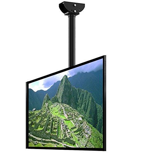 Loctek CM2 Adjustable Wall Ceiling Tilting TV Mount Fits Most 32-65 Inch LCD LED Plasma Monitor Flat Panel Screen Display