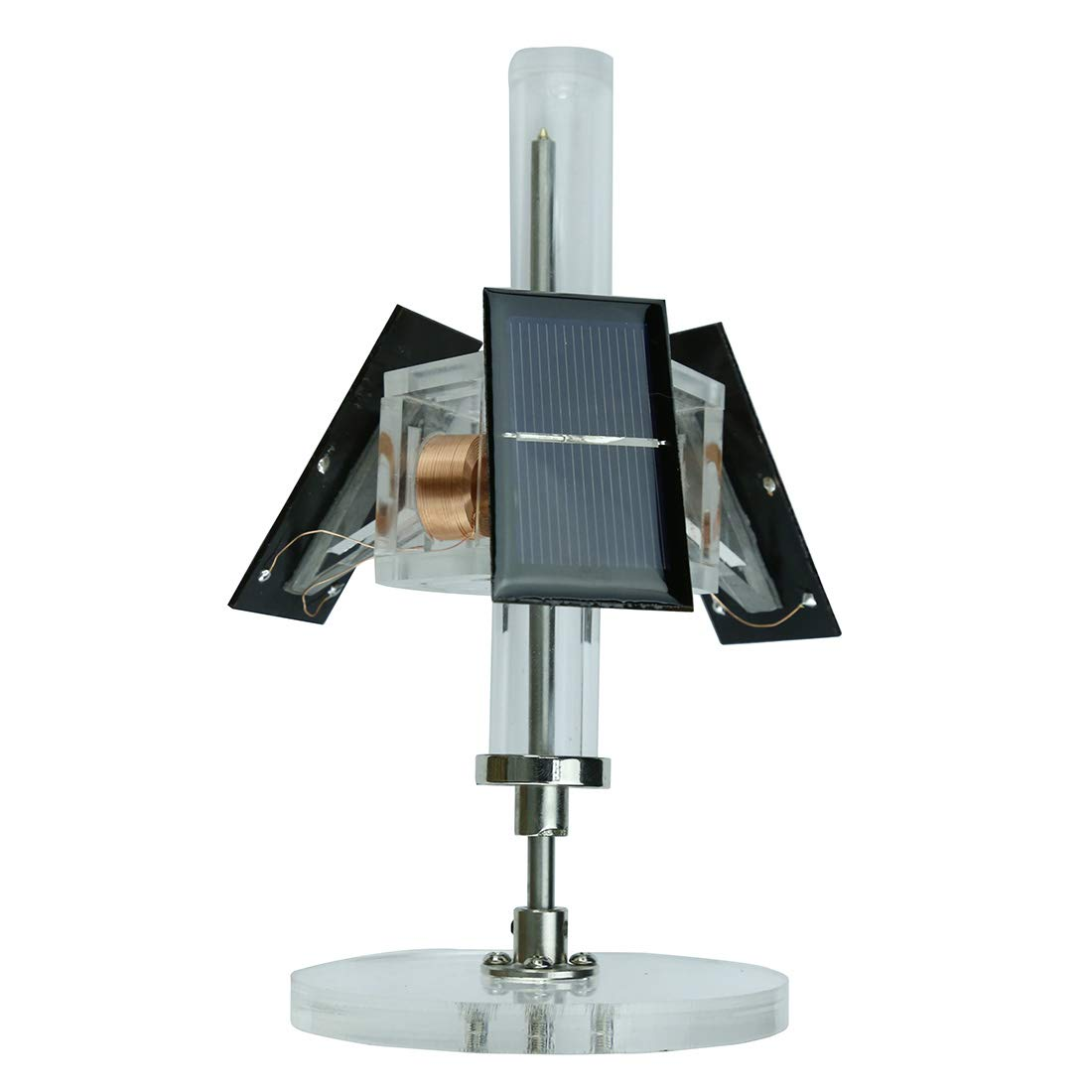 Yamix Solar Motor Magnetic Levitating Educational Model Physical Science Solar Power Experiment Model