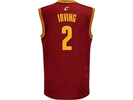 24da0bc164a NBA adidas Kyrie Irving Cleveland Cavaliers Youth Revolution 30 Swingman  Jersey - Wine (Small)