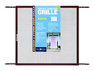New York Wire Mesh Door Grill