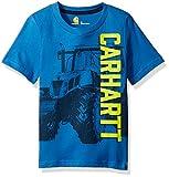 Carhartt Big Boys' Tee, Blue Tractor, M-10/12