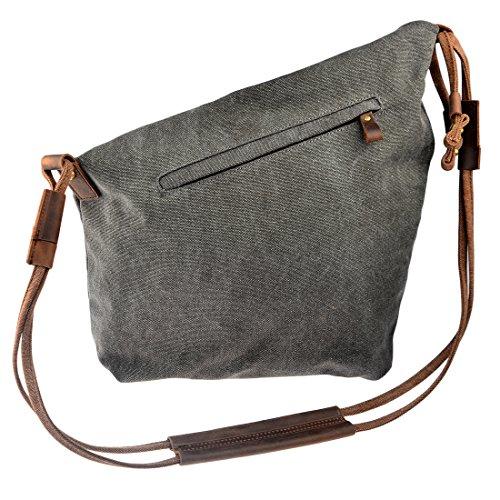 iTECHOR - Bolso mochila  para mujer, caqui (verde) - L1435480CWR5306 gris oscuro