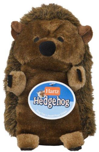 Hartz Plush Hedgehog Dog Toy - Large