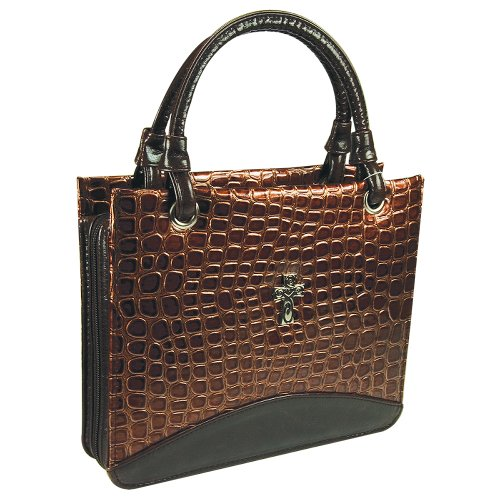 Croc Embossed Tote Bag - 5