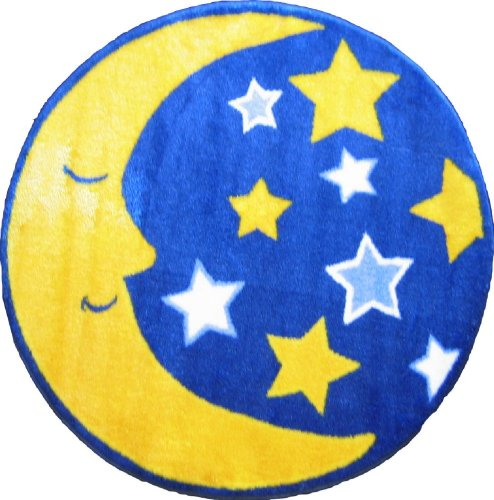 Bring In Cosmic Energy With A Moon And Stars Area Rug