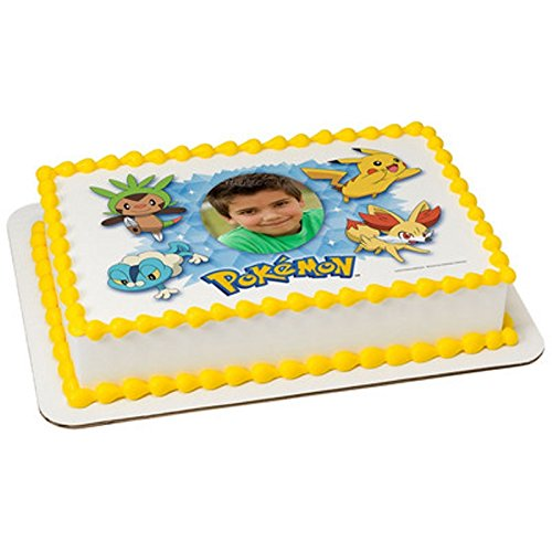 Edible Cake Images Pokemon : Pokemon Birthday Edible Cake Images Birthday Wikii