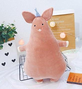 YOIL Lindo y Encantador Juguete Suave Peluches Divertido Juguete de Peluche de Cerdo de 60cm de