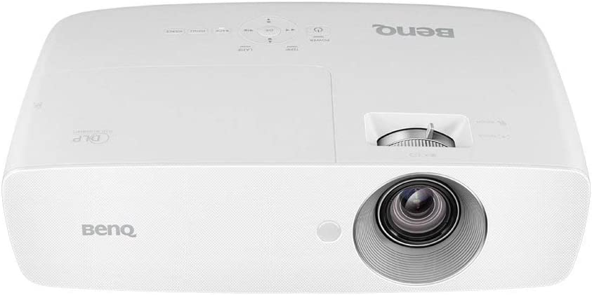 BenQ DLP 1080p Projector (HT1070) with Sport Mode Designed for Brilliant Fast-Action Sports, Full HD Home Theater Projector with RGBRGB Color Wheel and Built-in Audio (Renewed)