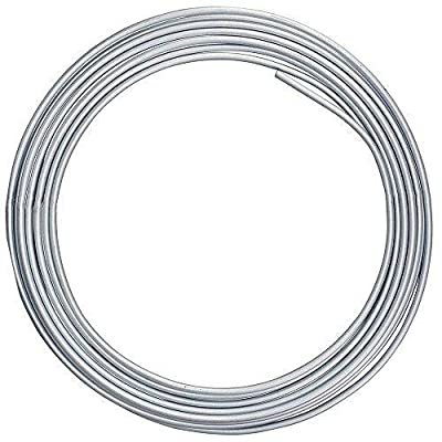 4LIFETIMELINES Stainless Steel Tubing Coil, 1/4 Inch, 25 Feet: Automotive