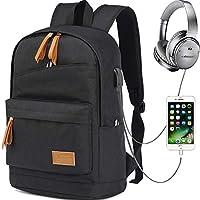 Myhozee Wasserdicht Laptop Rucksack Schulrucksack Backpack,12-15.6 Zoll Jugendliche Rucksack Schule für Herren Männer Reise Wandern