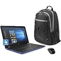 Premium 2018 Newest HP 15.6 Inch Flagship TouchScreen Laptop (AMD A12-9720P Quad-core 2.7 GHz, 8GB DDR4 RAM, 128GB SSD, WiFi, Webcam, DVD, Windows 10) Blue (Certified Refurbished)