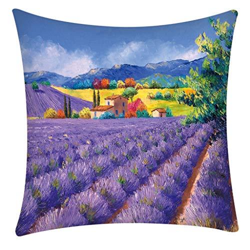 - Mbtaua Creative Printed Decorative Pillow Covers Pillow Case Cover Home Decoration Pillow Cases
