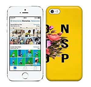 Best Power(Tm) HD Colorful Painted Watercolor Don'T Stop Flower Poster Hard Phone Case For Iphone 5/5S