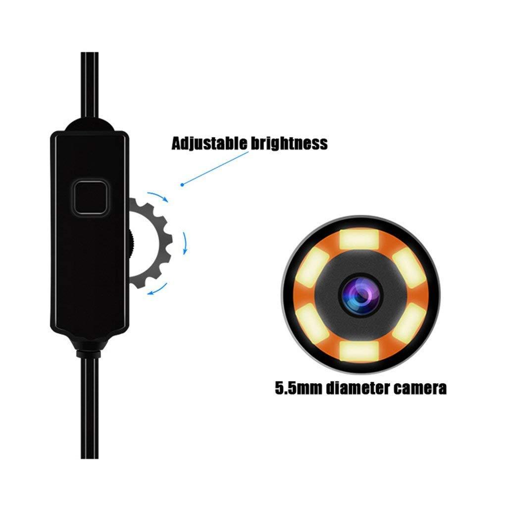 ZXCV Ohrl/öffel Endoskop USB-Endoskop-Erkennungskamera 30 Megapixel f/ür Android Smartphone
