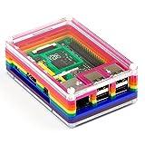 Pibow Rainbow Case B+ for Raspberry Pi B+